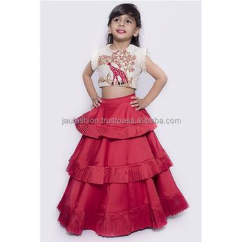 1ab67e9c5f Latest Kids Wedding Gown Designs   Kids Evening Gown Fashion 2018   Muslim  Kids Wedding Gown