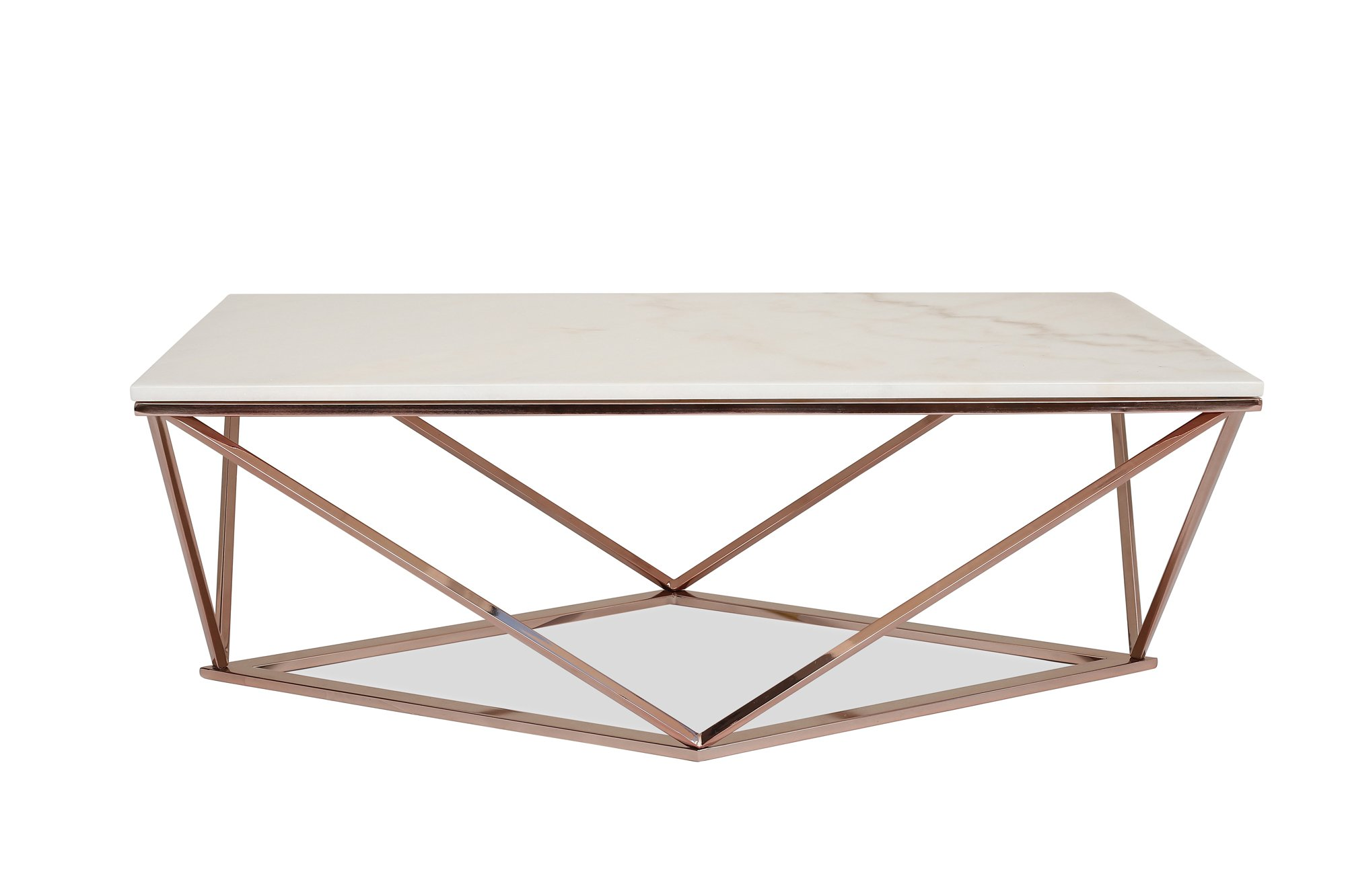 Pleasant Buy Stella White Marble Coffee Table Modern Gold Coffee Pabps2019 Chair Design Images Pabps2019Com