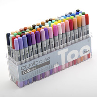 colorful and fine brush marker pens with multiple functions