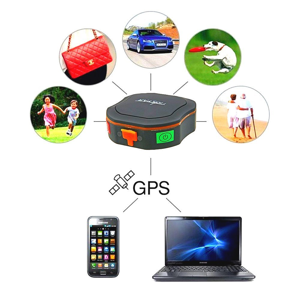 Portable Mini GPS Tracker Global Realtime Location SOS Waterproof GSM/GPS locator TKSTAR Tracking Device for Pets Vehicles