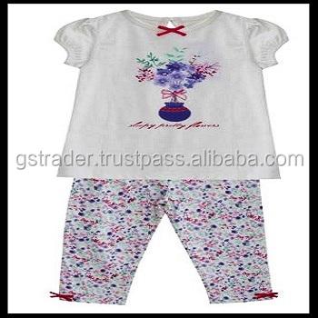 Cute Unisex Baby Clothing Pajama Printed Baby Pyjamas Sleepwear Baby