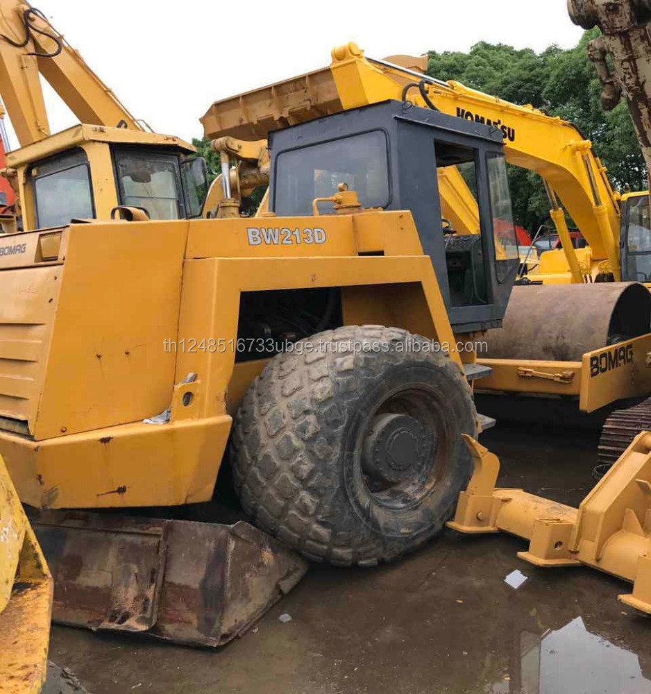 used road roller bomag bw213d with low price and high quality
