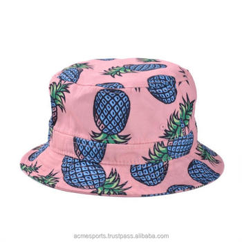 Sublimated Bucket Hats - Streetwear Cute Fabric Bucket Hat Pattern ... 9b115fd57d
