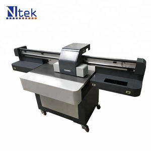 Small format Multi Color XP600 head 6090 digital ceramic decal printer with best price for sale