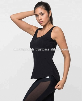 75cb76099dd534 Hot sale custom fitness workout gym sportswear top vest women yoga tank top