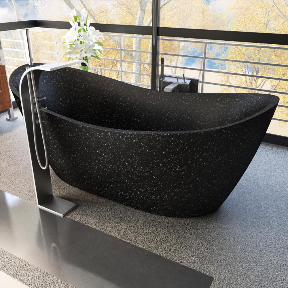 Terrazzo Bathtub Dkb020 - Nature Materials,Finished By Hand - Buy  Bathtub,Tub,Sink Product on Alibaba com