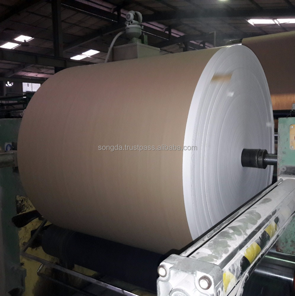 Brown kraft paper laminated tubular pp woven fabric roll