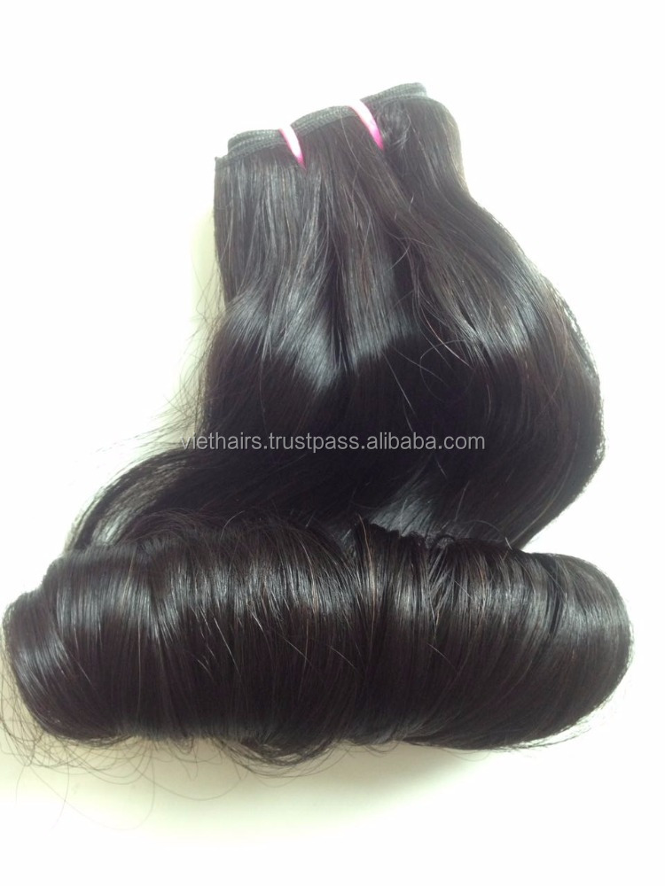 So soft totally human virgin Vietnam funmi curls hair 2017 grade 7A super double