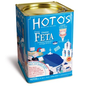 Greek PDO Feta Cheese 15Kg tin