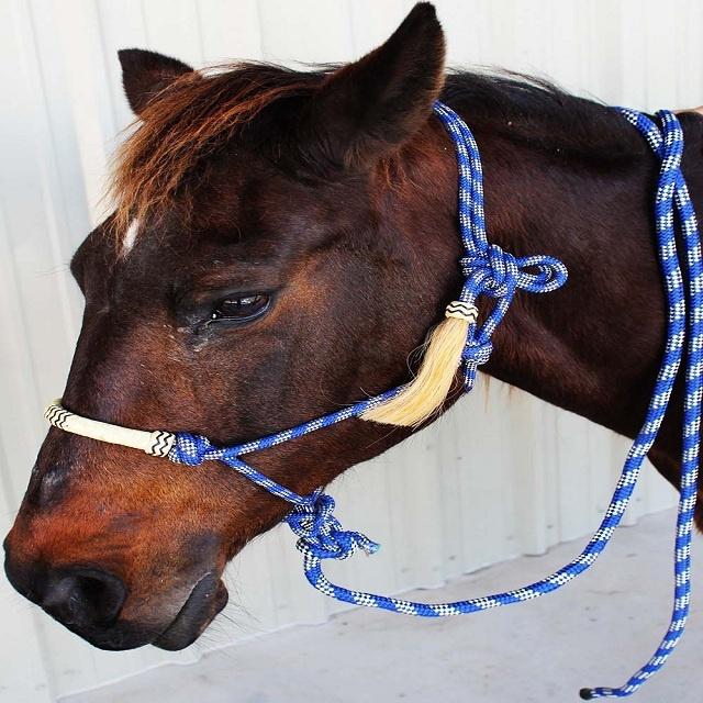 New Horse Rope Halter Control Head collar Natural Horsemanship