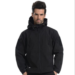 Softshell Jacket Men Fleece Waterproof Windproof Warm Winter Softshell jacket Hunting Coat Military Softshell Jacket Tactical