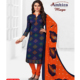 Indian Designer Cotton New Women's Colorful Salwar Kameez
