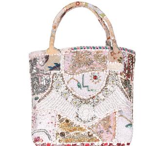 cfd920c11104 Indian Traditional Handbags Ethnic Embroidered Mirror Work Sling Bag  Designer Evening Handbags Decorative Women Party Bag