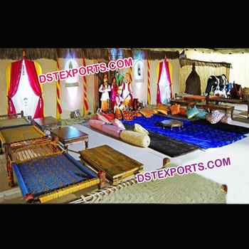 Punjabi Village Theme Pernikahan Dekorasi Panggungdesain Baru Punjabi Gaya Mehndi Panggung Dengan Patung Buy Pernikahan Mehndi Tahapanpakaian