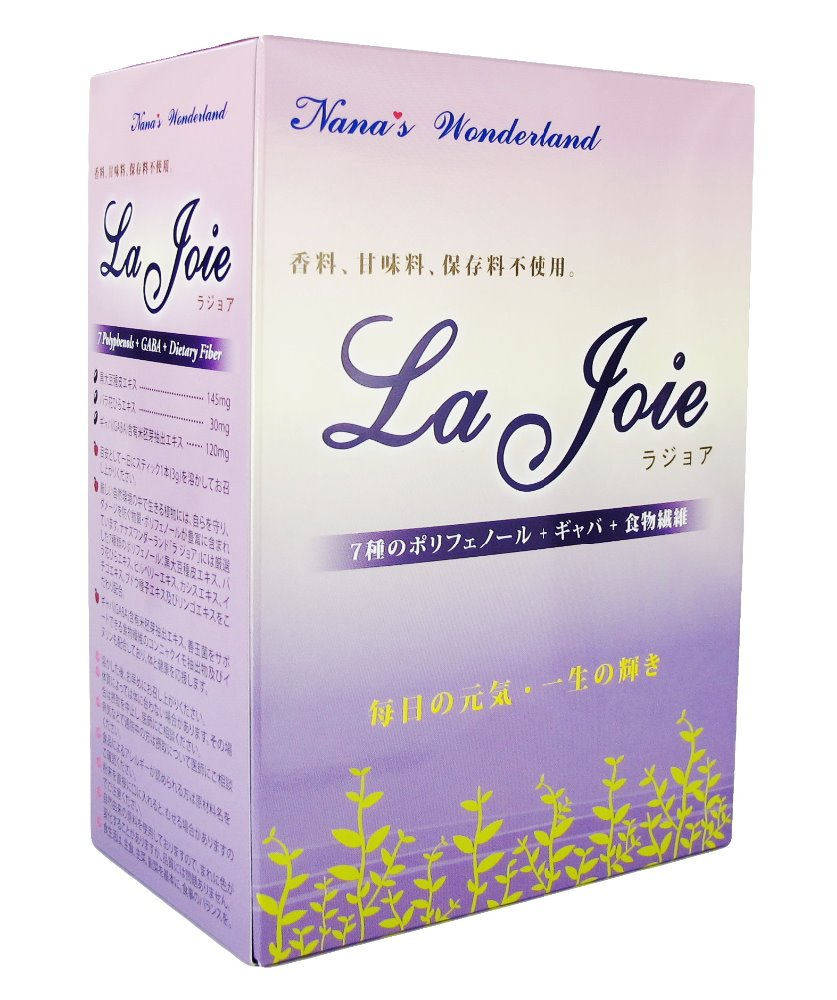 La Joie: Dietary Fiber for Preventing Constipation, Obesity, Decreasing Cholesterol, Blood Glucose