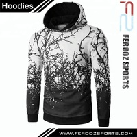Superior Quality Custom Made Hoodie Personalised Tribal Printed Hoodies For Men FSW-4317