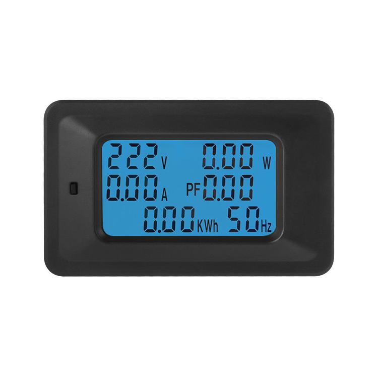 20A/100A 220V монитор с ЖК-панелью энергии Аналоговый вольтметр Амперметр Вт ток усилители вольтметр цифровой измеритель напряжения переменного тока