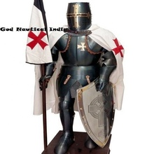 <span class=keywords><strong>MIDDELEEUWSE</strong></span> WEARABLE KNIGHT CRUSADOR TEMPLAR VOLLEDIGE PAK VAN <span class=keywords><strong>ARMOR</strong></span>