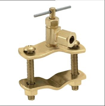 "Saddle <strong>valve</strong> Broken Ice Maker <strong>Valve</strong> Self Piercing Saddle <strong>Valve</strong> with 1/4"" Compression"
