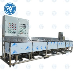 NDCNC CLEANING MACHINE for cell phone tempered glass making machine