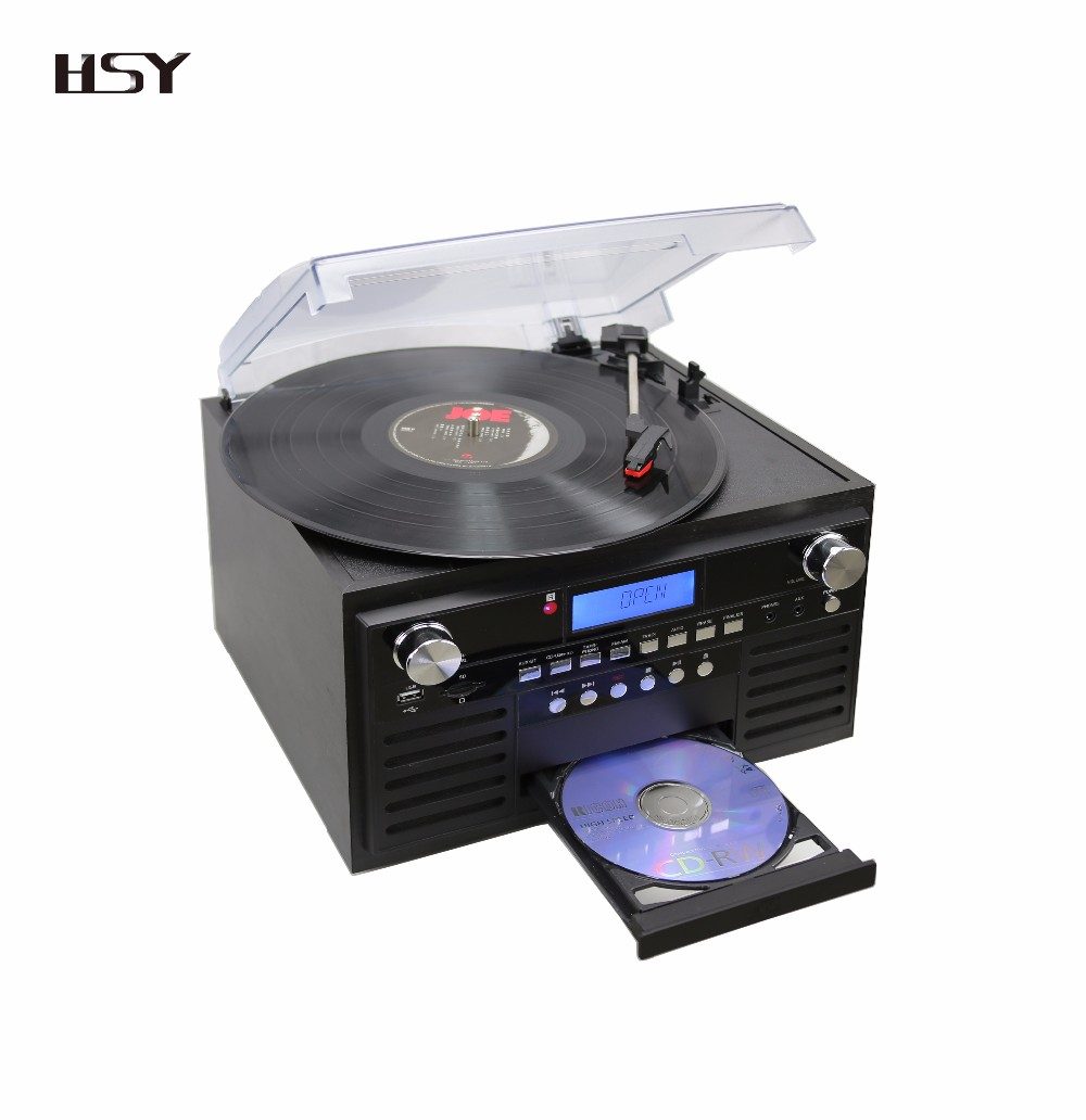 turntable cd playerprofessional combo music player with