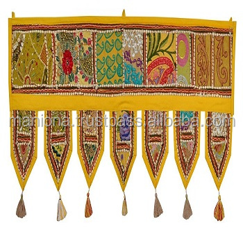 Indian Door Decoration Ethnic India Wall Decor Toran Door Hanging ...
