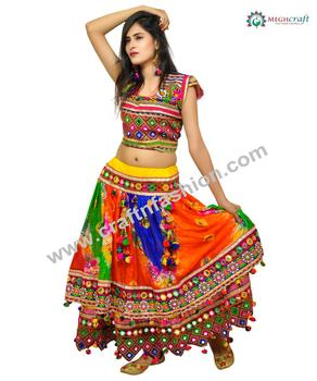 07fdfc2e51 Latest Navratri Design Chaniya Choli - Two Layered Designer Ghaghra Choli - Chaniya  Choli With Dupatta