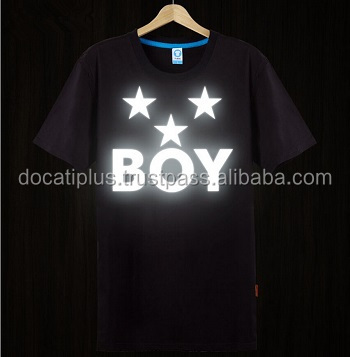 Reflector Printed Glow In The Dark Tshirts For Men Buy Glow In The