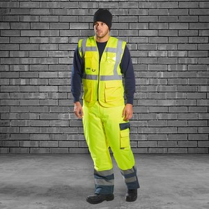 High visibility waterproof work clothes mens safety custom vietnam construction ultima coverall uniform overalls workwear