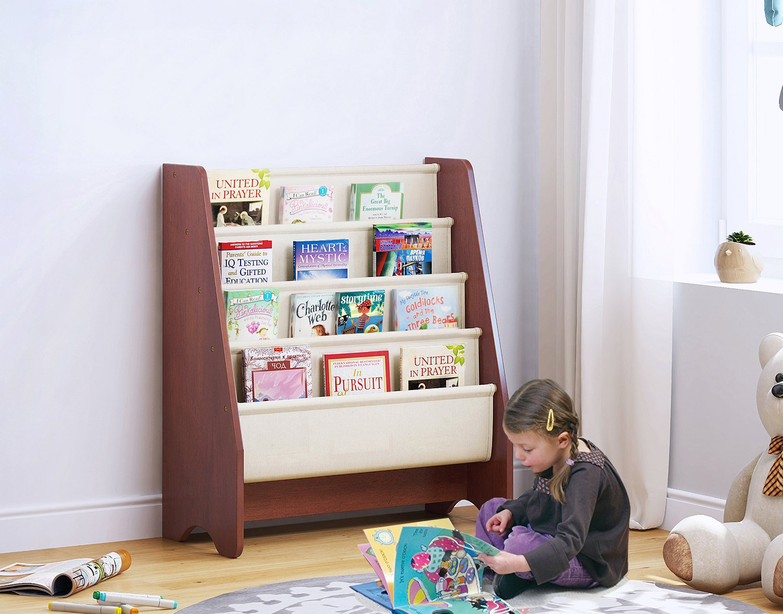 Get Quotations UTEX Kids Sling Bookshelf Magazine Rack