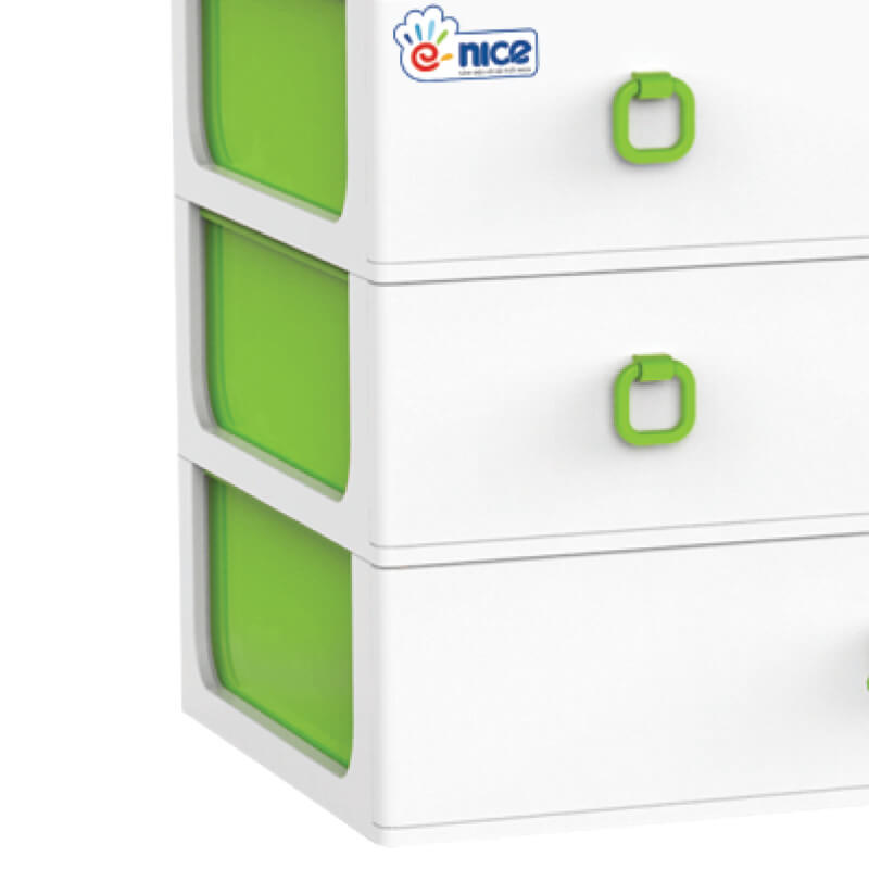 5-tier clothes plastic storage  clothing cabinet for kids