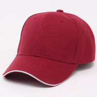 Adjustable Blank Unstructured Soft Men Women Plain Baseball Cap Adjustable Unisex Classic 6-Panel Hat for Outdoor Sports Wear