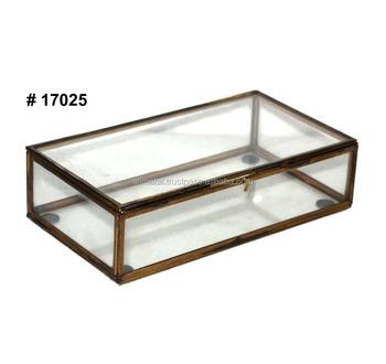 Glas Metall Aufbewahrungsboxen Buy Aufbewahrungsbox Dekorative