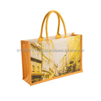 14521f2fa1df Factory Made Supply Wholesale Cheap Price Customized Logo Print joint Jute  Shopping