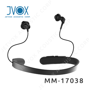 Active Noise Cancelling Wireless Neckband Headphone