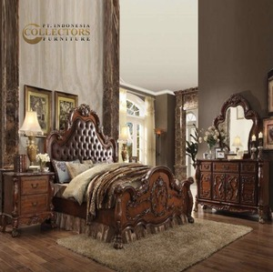 antique reproduction furniture,Royal carved bedroom furniture,classic bedroom furniture