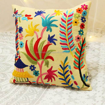 Cheap Handmade Suzani Hand Embroidery Designs Cushion Cover Buy