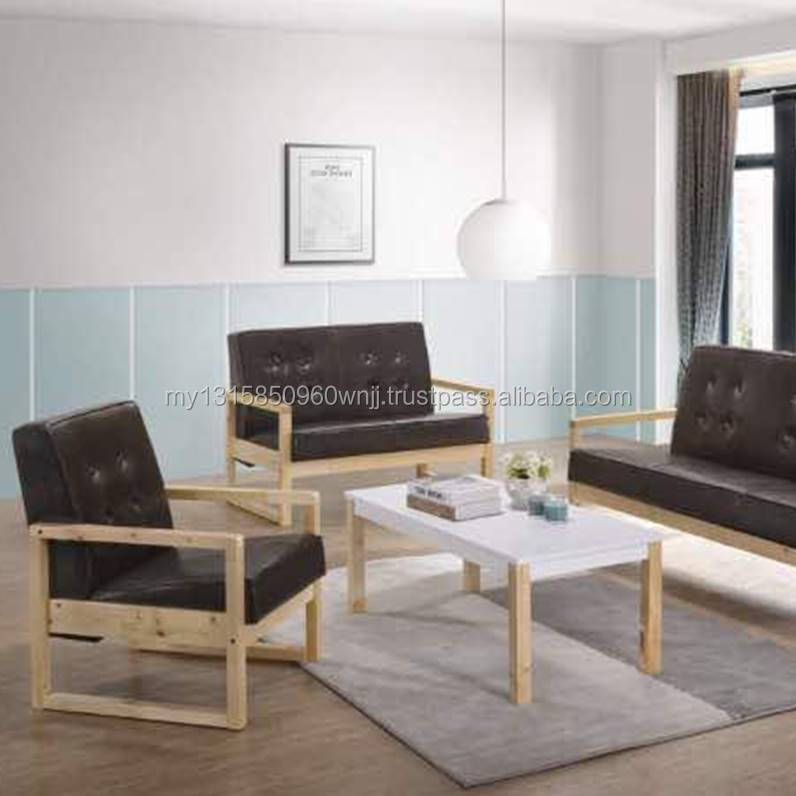 Chairs Wooden Sofa Sets Modern Design