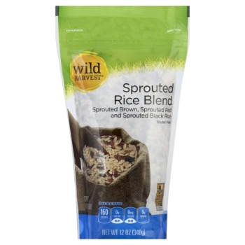Wild Harvest Sprouted Rice Blende Bag 12 oz.