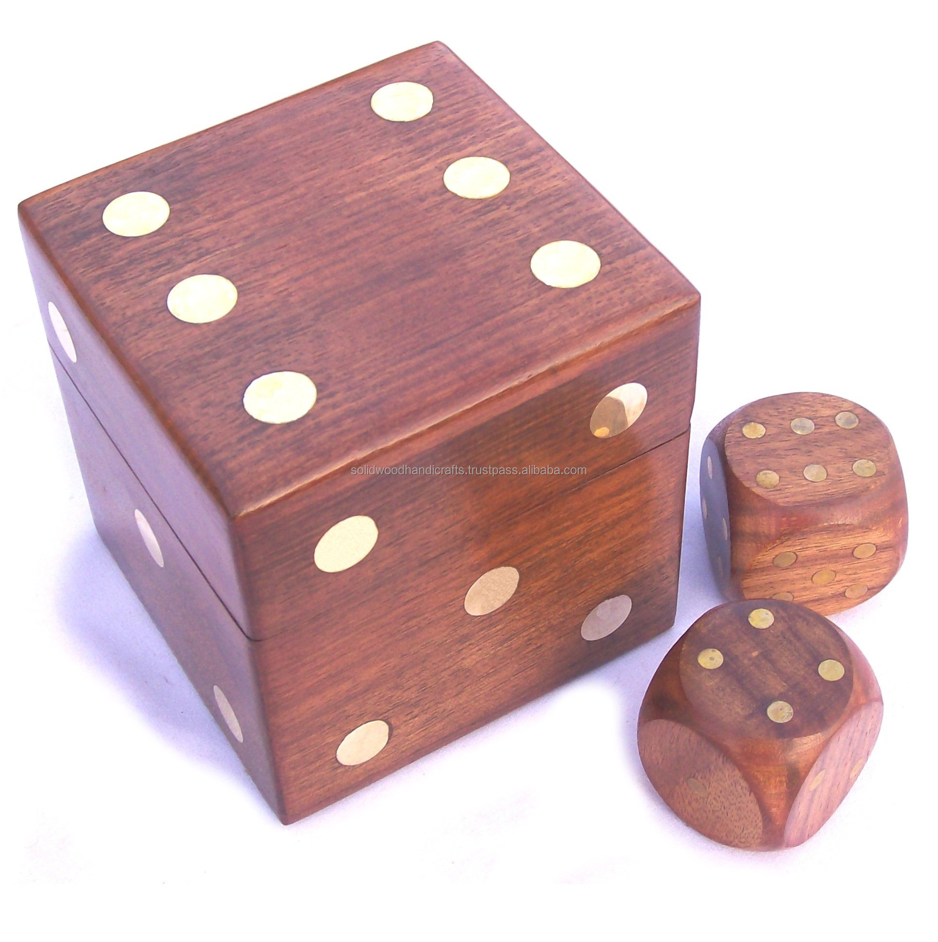 HOUTEN TRADITIONELE BORDSPELLEN/INDOOR GAMES/DOMINO/DOBBELSTENEN/POKER SET/schaken