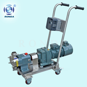D-3A high viscosity food grade transfer pump sanitary rotary cam pump