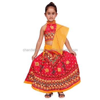 riesige Auswahl an 13419 69f1a Indische Kinder Handgemachtes Rotes Lehenga Choli Chaniya Choli Für  Ethnisches Mädchenkleid,Traditionelles Kleid Mädchen Kleidet Duppta  Gesetztes ...