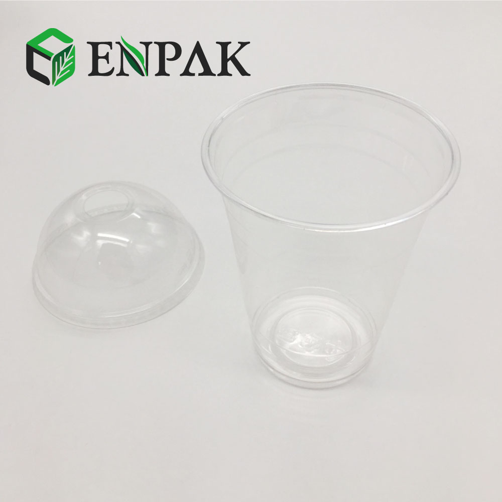 Clear Plastic Hinged Food Container for Salad and fresh fruit