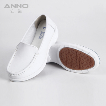 Fashionable anti-slip super comfortable white nurse shoes for nurse and doctor LR1205