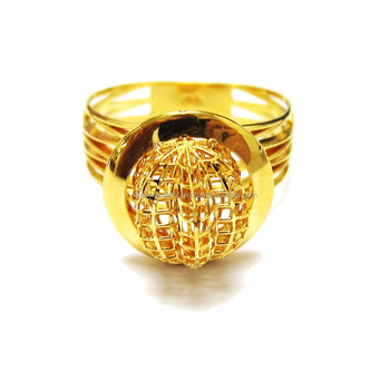 18k 21k 22k Real Fine Gold Jewelry Ring Middle East Dubai Arabic Women Accessories Design Product On Alibaba