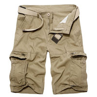 Men Camo Cargo Shorts Military Combat Summer Sport Casual Pants Multi-Pocket New
