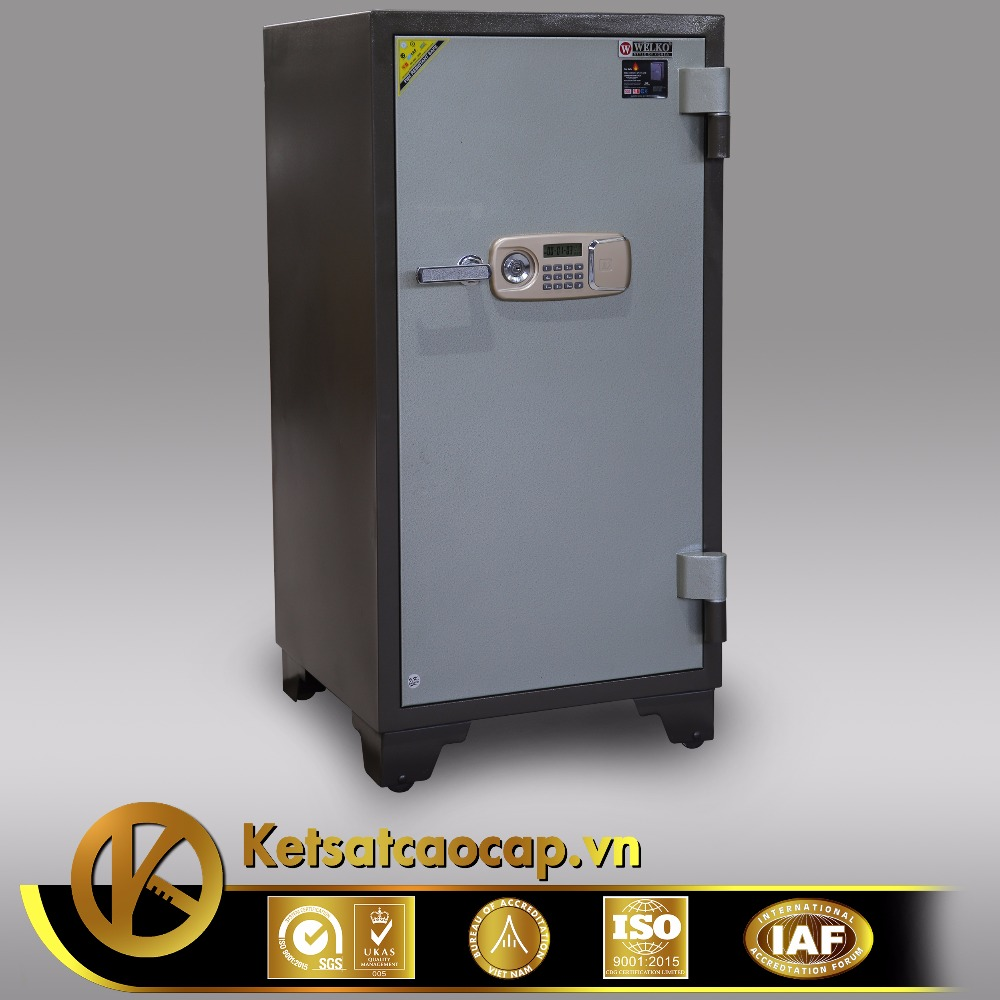 Electronic fingerprint safe box, safe in safe - KCC 240 E