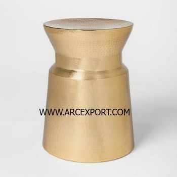new design gold stool