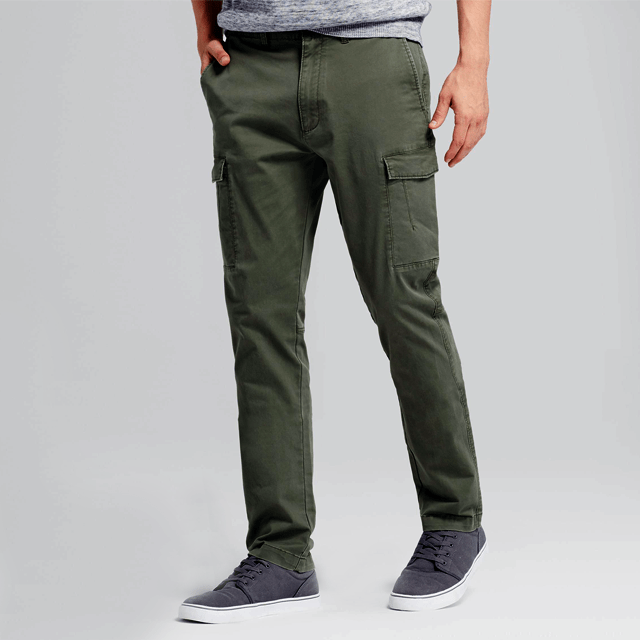 Skinny Pants Forceful 2018 New Fashion Hot Popular Slim Fit Straight Leg Pants Casual Pencil Jogger Cargo Trousers Men
