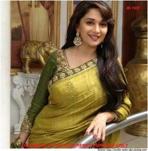Daily wear embroidery work bhagalpuri sarees with blouse - Indian Sarees online wholesale